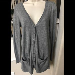 Button up cardigan with pockets